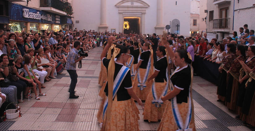 Fiestas in Honour of the Virgin of Sufragio and Saint James