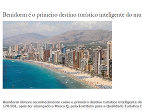Portuguese newspapers echo the Benidorm DTI certificate