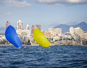 190 sailors will compete this weekend in the XLVI Nautical Christmas in Benidorm